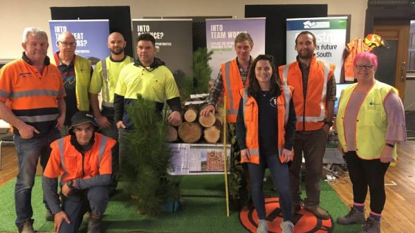Forestry opportunities offered to school students